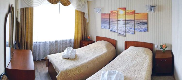 Фото и цены на двухместный номер Элит в гостинице Бузулук