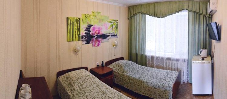 Фото и цены на номера категории Стандарт в гостинице Бузулук