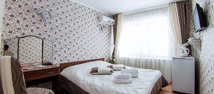 Фото и цены на одноместные номера категории Комфорт гостиницы Бузулук