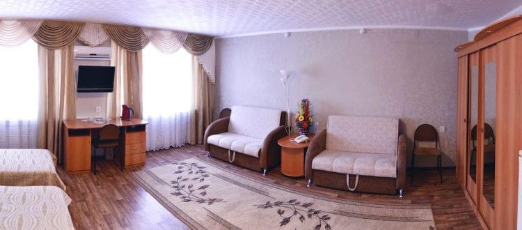 Фото и цены на двухместные номера категории Комфорт гостиницы Бузулук