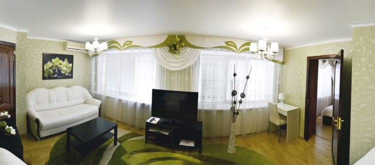 Фото и цены на одноместные номера категории Люкс гостиницы Бузулук