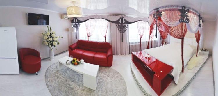 Фото и цены на свадебный номер категории Студия гостиницы Бузулук